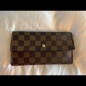 Authentic Louis Vuitton Porte Tresor Wallet